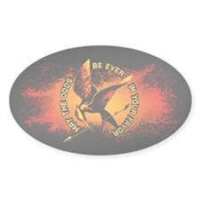Grunge Hunger Games Decal