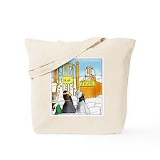 Cute Anti atheist Tote Bag
