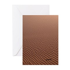 Desert art Greeting Cards (Pk of 20)