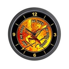 Hunger Games Grunge Wall Clock