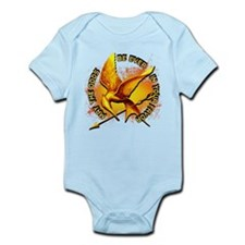 Hunger Games Grunge Infant Bodysuit