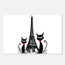 Cat Lovers Postcards (Package of 8)