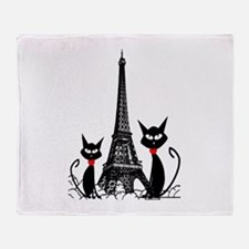 Cat Lovers Throw Blanket