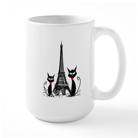 Cat Lovers Large Mug