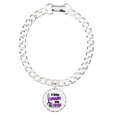 I Wear Purple 37 Epilepsy Bracelet
