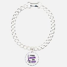 I Wear Purple 37 Epilepsy Bracelet