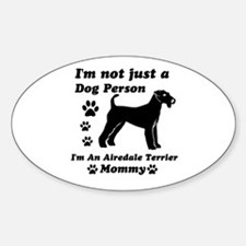 Airedale Terrier Mommy Decal