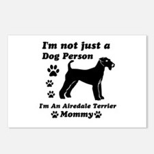 Airedale Terrier Mommy Postcards (Package of 8)