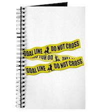 Lacrosse Crime Tape Journal