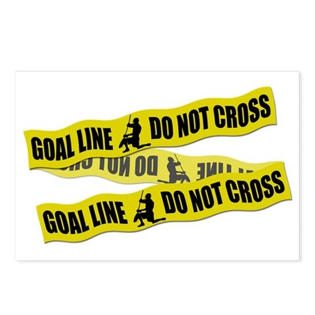 Lacrosse Crime Tape Postcards (Package of 8)