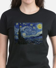 starry trek night T-Shirt