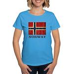 Vintage Norway Women's Dark T-Shirt