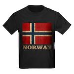 Vintage Norway Kids Dark T-Shirt