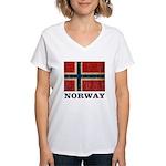 Vintage Norway Women's V-Neck T-Shirt