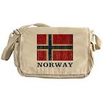Vintage Norway Messenger Bag