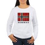 Vintage Norway Women's Long Sleeve T-Shirt