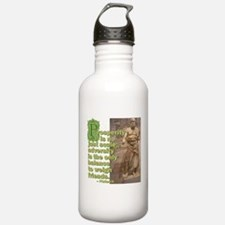 No Just Scale Water Bottle