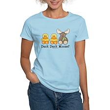 3-DuckMooseDkTCol T-Shirt