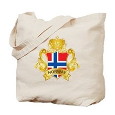 Gold Norway Tote Bag