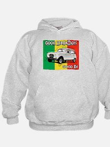 Renault 4 Rasta Hoodie