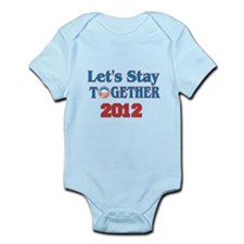 Let's Stay Together 2012 Infant Bodysuit