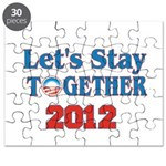 Let's Stay Together 2012 Puzzle