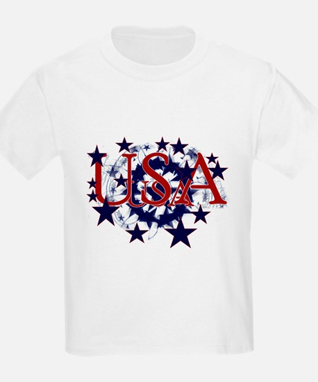 USA Stars Kids T-Shirt