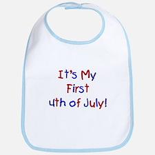 First 4th of July Bib