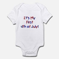 First 4th of July Infant Creeper