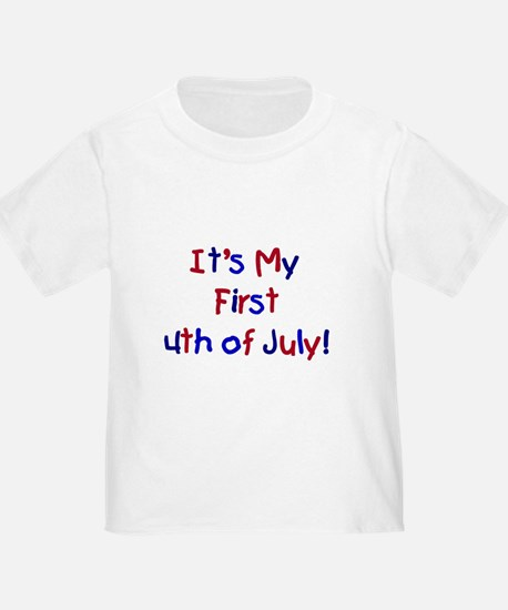 First 4th of July T