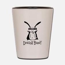 Cool Bunny Shot Glass