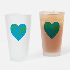 Earth Heart Drinking Glass
