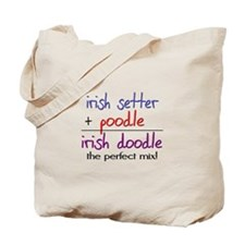 Irish Doodle PERFECT MIX Tote Bag