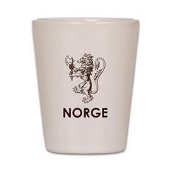 Norge Shot Glass