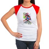 Norwegian Women's Cap Sleeve T-Shirt