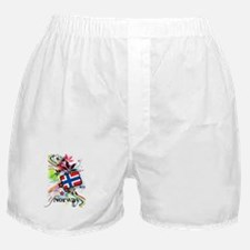Flower Norway Boxer Shorts