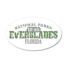 Everglades National Park FL 38.5 x 24.5 Oval Wall