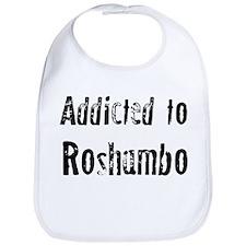 Addicted to Roshambo Bib