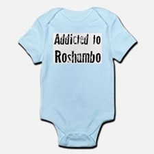 Addicted to Roshambo Infant Creeper