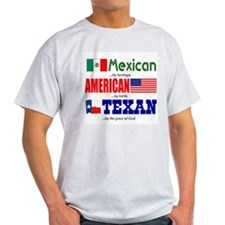 T-Shirt - Mexican Heritage/Texan
