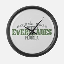 Everglades National Park FL Large Wall Clock