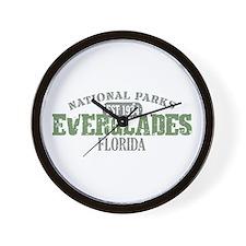 Everglades National Park FL Wall Clock