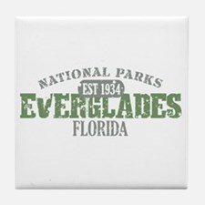 Everglades National Park FL Tile Coaster