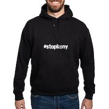 #stopkony white Hoodie