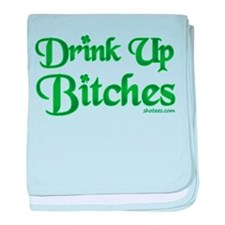 Irish Drinking baby blanket