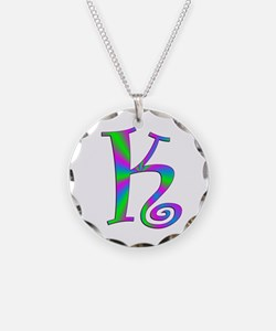 K Monogram Necklace
