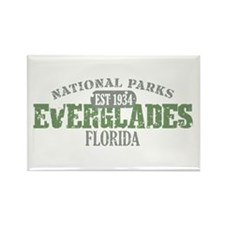 Everglades National Park FL Rectangle Magnet