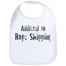 Addicted to Rope Skipping Bib