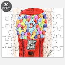 Old Bubblegum Machine Puzzle