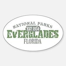 Everglades National Park FL Sticker (Oval)